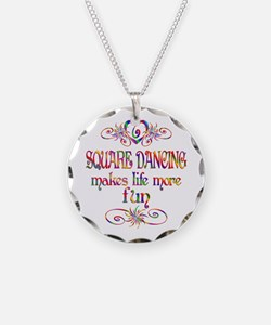 Square Dancing More Fun Necklace