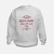 Square Dancing More Fun Sweatshirt