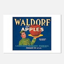 Waldorf Apples Postcards (Package of 8)