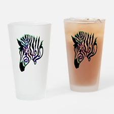 ZEBRA!! Drinking Glass