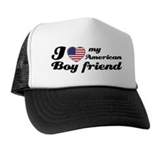 I love my American boy Trucker Hat