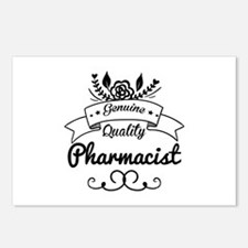 Genuine Quality Pharmacis Postcards (Package of 8)