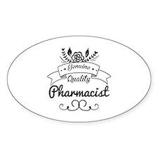 Genuine Quality Pharmacist Decal