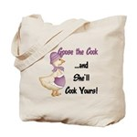 Goose the Cook... Tote Bag