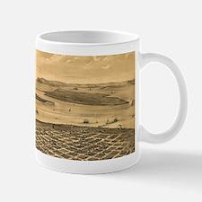 Vintage Pictorial Map of San Diego (1876) Mugs