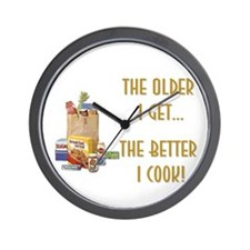 The Older I Get... Wall Clock