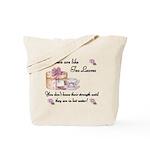 Women are Like Tea Leaves Tote Bag