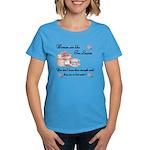 Women are Like Tea Leaves Women's Dark T-Shirt