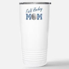 Field Hockey Mom Stainless Steel Travel Mug