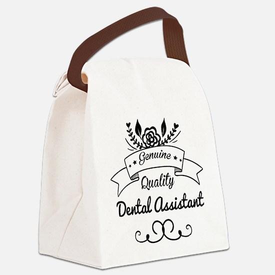 Genuine Quality Dental Assistant Canvas Lunch Bag