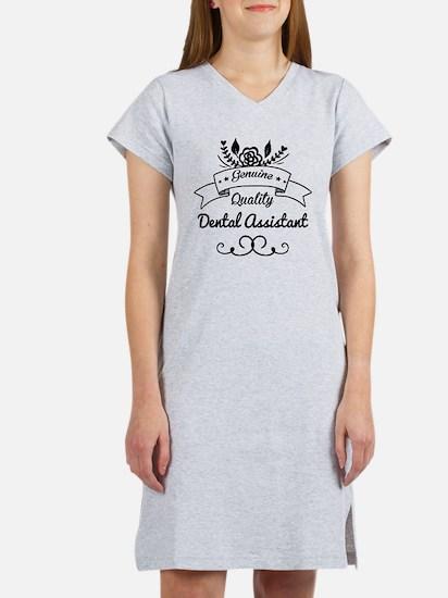 Genuine Quality Dental Assistan Women's Nightshirt