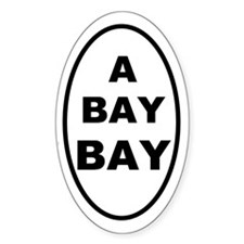 A Bay BAY Oval Decal