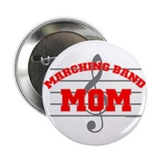 """Marching Band Mom 2.25"""" Button (10 pack)"""