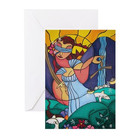 Lady Justice Greeting Cards (Pk of 10)