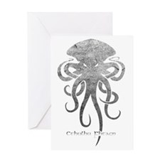 Cthulhu Light Greeting Card