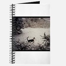 KITTY'S FIRST SNOW Journal