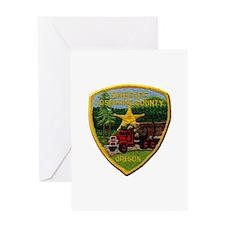 Josephine County Sheriff Greeting Cards