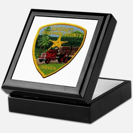 Josephine County Sheriff Keepsake Box