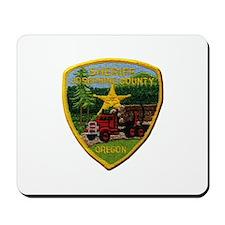 Josephine County Sheriff Mousepad