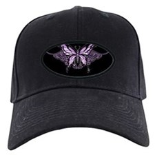 Purple Tribal Butterfly Baseball Hat