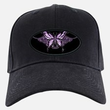 Purple Tribal Butterfly Baseball Hat