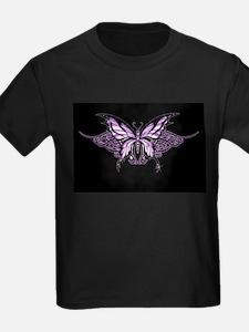 Purple Tribal Butterfly T