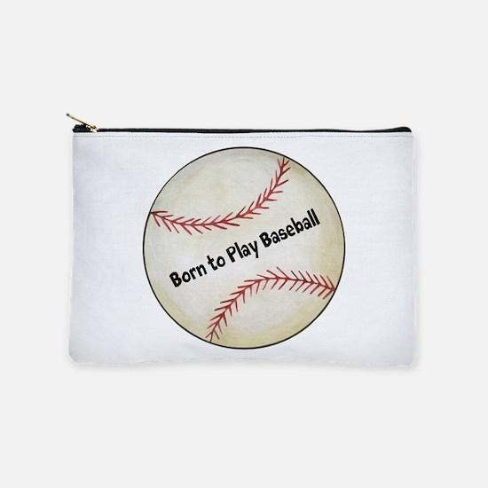 Baseball Makeup Pouch