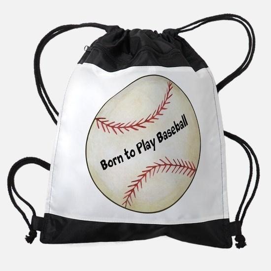 Baseball Drawstring Bag