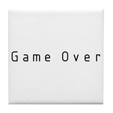 Game Over Tile Coaster