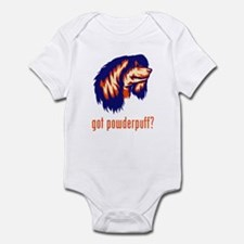 Chinese Crested (Powderpuff) Infant Bodysuit