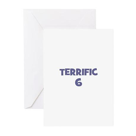 Terrific 6 Greeting Cards (Pk of 10)