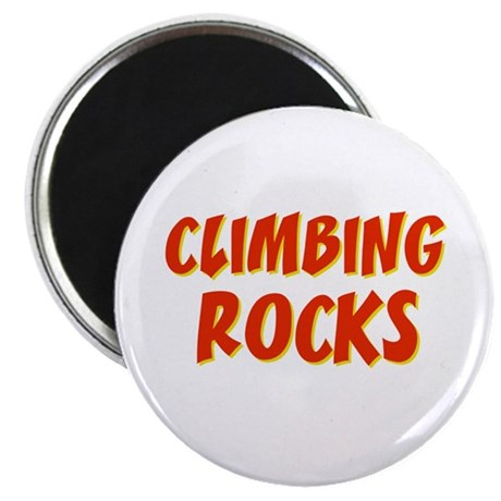 Climbing Rocks Magnet