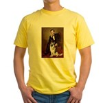 Lincoln's German Shepherd Yellow T-Shirt
