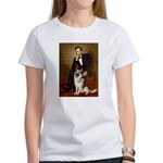 Lincoln's German Shepherd Women's T-Shirt