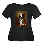 Lincoln's German Shepherd Women's Plus Size Scoop