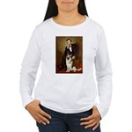 Lincoln's German Shepherd Women's Long Sleeve T-Sh