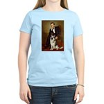 Lincoln's German Shepherd Women's Light T-Shirt