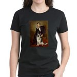 Lincoln's German Shepherd Women's Dark T-Shirt