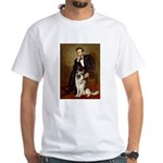 Lincoln's German Shepherd White T-Shirt