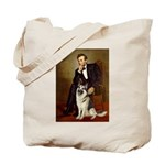 Lincoln's German Shepherd Tote Bag
