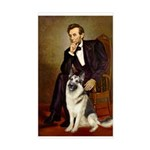 Lincoln's German Shepherd Sticker (Rectangle)
