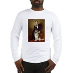 Lincoln's German Shepherd Long Sleeve T-Shirt
