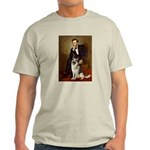 Lincoln's German Shepherd Light T-Shirt