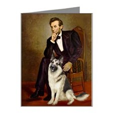 Lincoln's German Shepherd Note Cards (Pk of 20)
