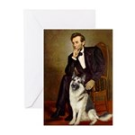 Lincoln's German Shepherd Greeting Cards (Pk of 10