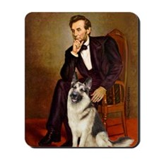 Lincoln's German Shepherd Mousepad