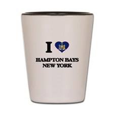 I love Hampton Bays New York Shot Glass