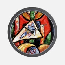 Marsden Hartley - Abstraction Wall Clock