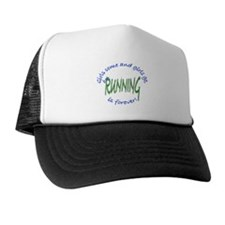 girls come and go running Trucker Hat