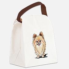 KiniArt Bella Pom Canvas Lunch Bag